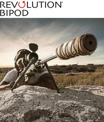 REVOLUTION BIPOD Steel .50 CAL Model